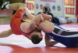 wrestling match